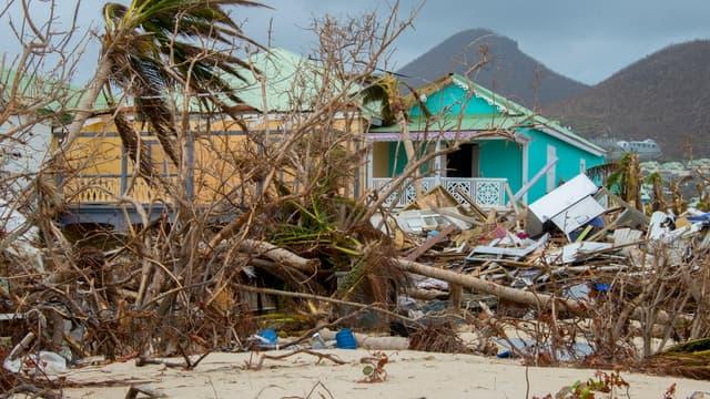 Saint-Martin a été touché par Irma.