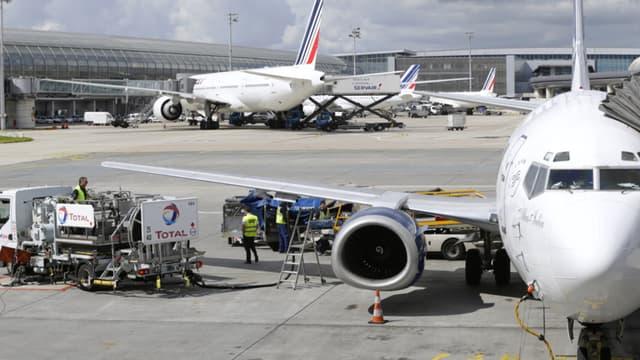 Des avions sur le tarmac de l'aéroport Roissy Charles-de-Gaulle. (Photo d'illustration)