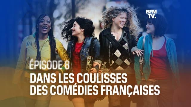 "Djena Tsimba, Anne-Sophie Franck, Léa Seydoux et Stéphanie Sokolinski dans ""Mes copines"""