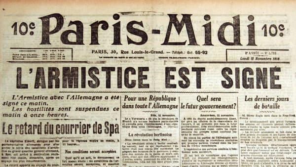 La Une de Paris-Midi