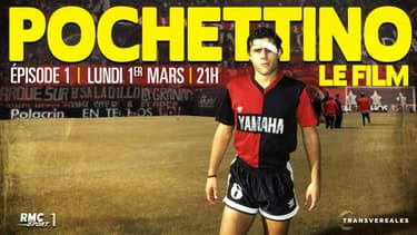 "Le premier épisode de ""Pochettino, le film"" sera diffusé ce lundi à 21h, sur RMC Sport 1"