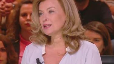 """Valérie Trierweiler sur le plateau de """"Quotidien"""", le 18 mai 2017"""