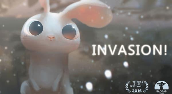 Le film d'animation Invasion du réalisateur Eric Darnell.