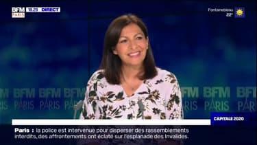 Anne Hidalgo, candidate PS à la mairie de Paris, invitée de Capitale 2020
