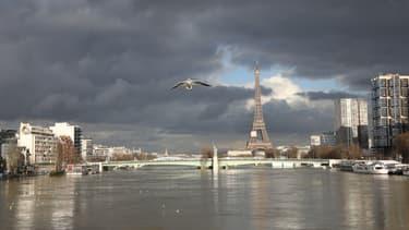 La Seine en crue en 2018 (photo d'illustration)