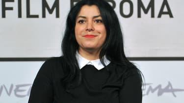 Marjane Satrapi à Rome à 2012