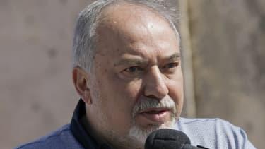 Le ministre israélien de la Défense démissionnaire, Avigdor Lieberman.