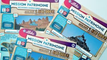 """Des tickets de la """"Mission patrimoine"""", vendus 15 euros l'unité. (Photo d'illustration)"""
