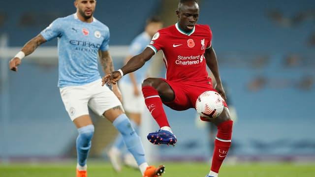 Sadio Mané (Liverpool) contre Manchester City