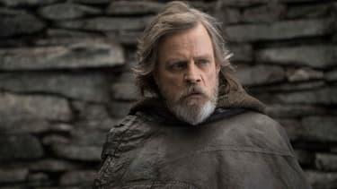 """Mark Hamill dans """"Star Wars - Les Derniers Jedi"""", en salles depuis le 13 décembre 2017"""