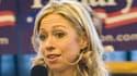 Chelsea Clinton, lors d'un meeting en faveur de sa mère en 2008, dans le Winsconsin.