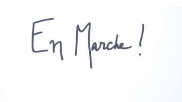 Le logo d'En Marche!.