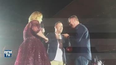 Adele sur scène en Australie