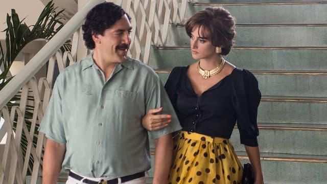 Javier Bardem et Penélope Cruz dans Escobar