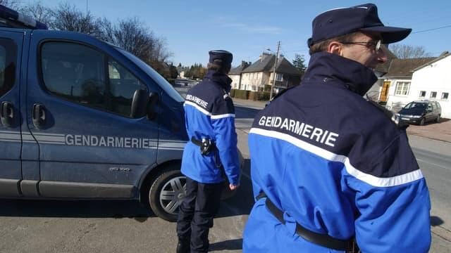 Deux gendarmes (photo d'illustration)
