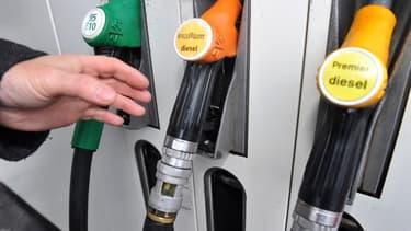 Une pompe à carburant (illustration).