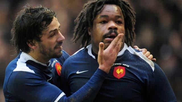 Bastareaud, Poitrenaud et les Bleus sont passés du rire aux larmes en cette année 2010