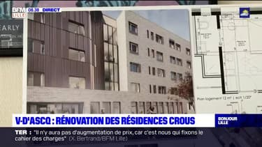 Villeneuve-d'Ascq: début des rénovations des résidences étudiantes