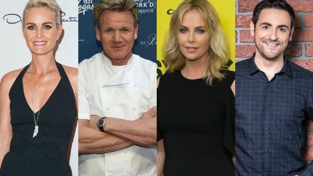 Laeticia Hallyday, Gordon Ramsay, Charlize Theron et Camille Combal ont fait l'actualité cette semaine
