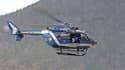 Un hélicoptère de la gendarmerie de haute montagne. (Photo d'illustration)