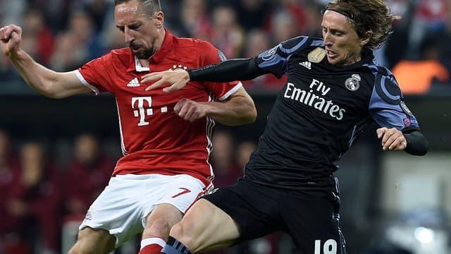 Franck Ribéry et Luka Modric