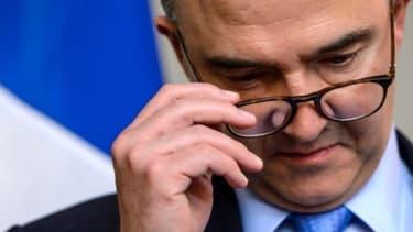 Pierre Moscovici ne s'est pas étendu sur la discipline budgétaire.