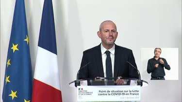 Jérôme Salomon, le 7 décembre 2020