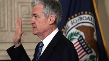 Le nouveau président de la Fed Jerome Powell.