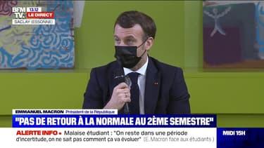 Emmanuel Macron souhaite ouvrir à tous les étudiants l'accès aux deux repas par jour à un euro dans les restaurants universitaires