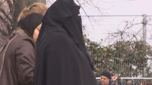 Le port du niqab dans la rue est interdit en France depuis 2011 (photo d'illustration).