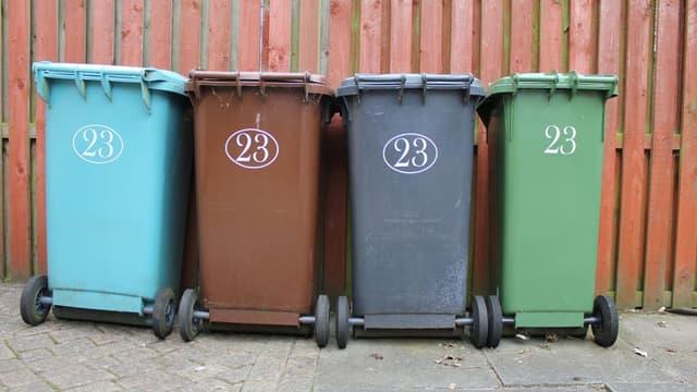 Le local à poubelles n'est pas systématique, même dans le neuf