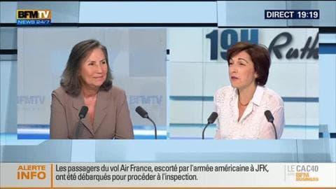 Teresa Cremisi face à Ruth Elkrief