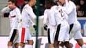 Renato Civelli, félicité après un but
