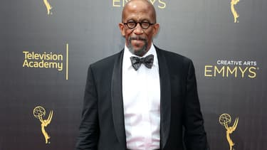 L'acteur Reg E. Cathey à Los Angeles en septembre 2016