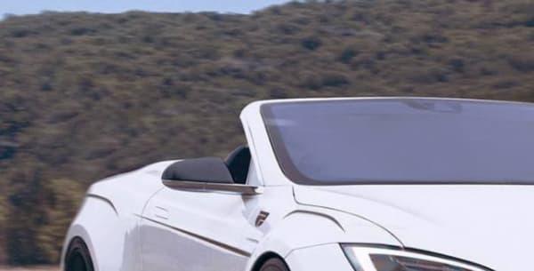 La face avant imaginée par le designer X-Tomi sur la Tesla Model S luidonne une allure plus sportive.
