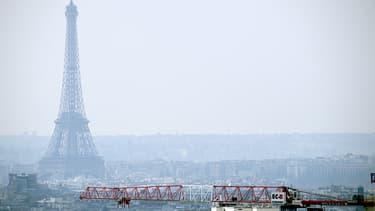 Le 27 mars, une pollution très importante recouvrait déjà Paris.