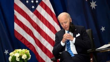 Joe Biden à New York, le 21 septembre 2021