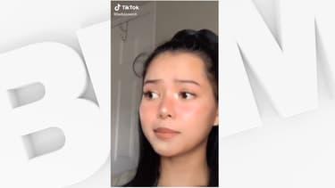 Bella Poarch dans l'une de ses vidéos TikTok