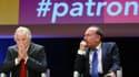 """Jean-François Roubaud (CGPME) et Pierre Gattaz (Medef) seront une nouvelle fois réunis dans le cadre d'une """"mobilisation pour l'entreprise""""."""
