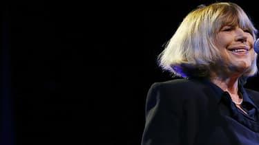 Marianne Faithfull sur scène