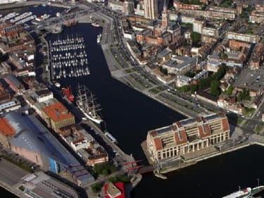 Le centre-ville de Dunkerque