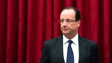 François Hollande le 29 avril.