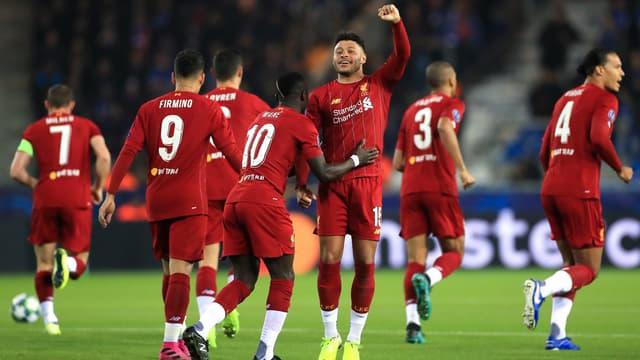 Liverpool en Ligue des champions, le 23 octobre 2019