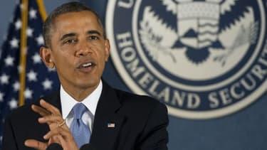 Barack Obama s'est exprimé depuis la Maison Blanche, ce mardi 8 octobre.