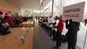 Attac s'est invité à l'Apple Store d'Aix-en-Provence