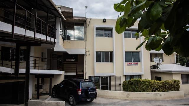 L'hôpital à Port-au-Prince où les deux ressortissants français ont été amenés après avoir été tués par balle, le 25 novembre 2019