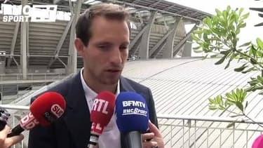 """JO 2024 - Lavillenie : """"Un projet magnifique"""""""