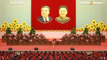 Kim Jong-Un préside un congrès en Corée du nord
