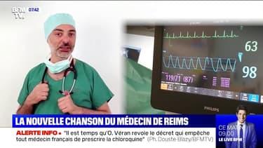 """""""Là pour vous"""": la nouvelle chanson de Bény Charbit, médecin au CHU de Reims"""