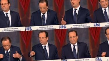 Evasif sur sa vie privée, Hollande prend un risque politique.